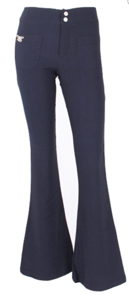 Face Off  Button;  Pocket Pant navy