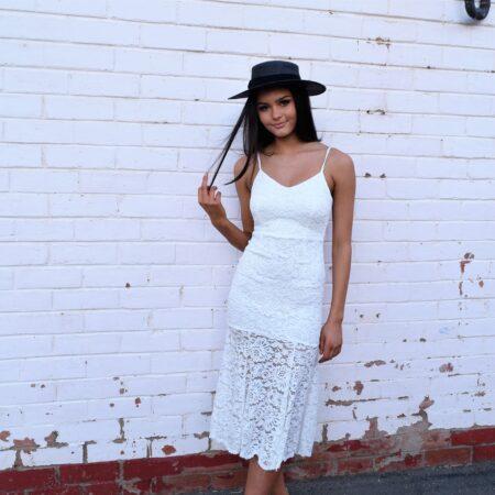 Beaumont Lace white