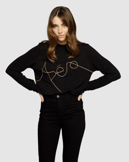 Artist Embroidered Long Sleeve