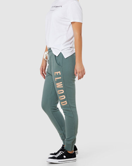 Huff N Puff Track Pant Hunter Green