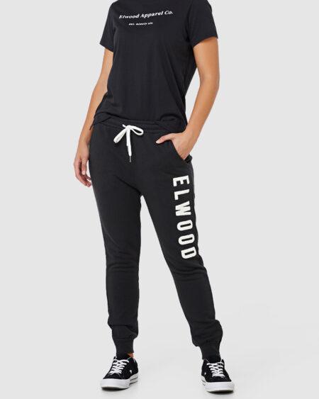 Huff N Puff Track Pant Vintage Black