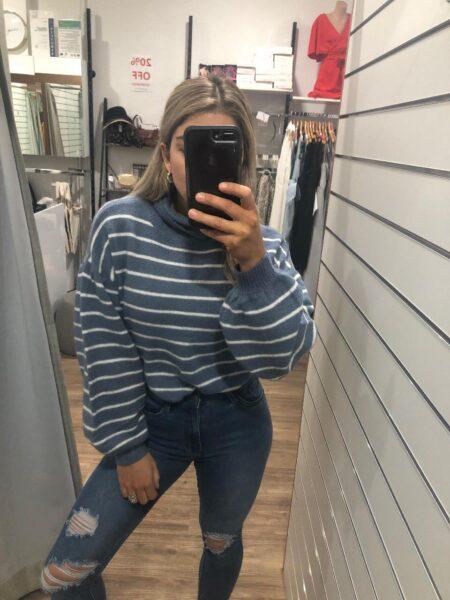 Myra Stripe Knit