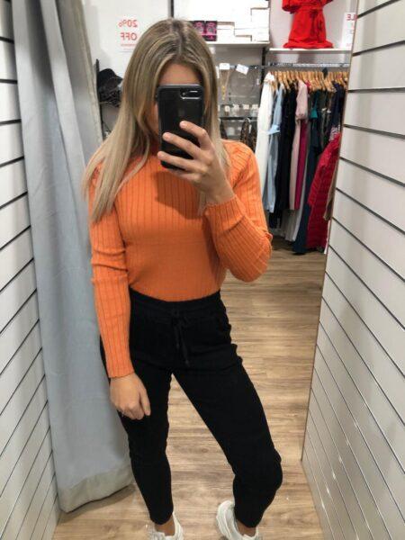 Mink Pink Orange Knit