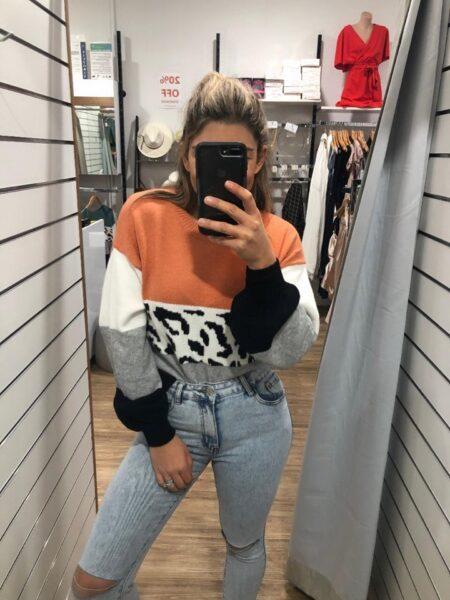 Lucy Jumper orange