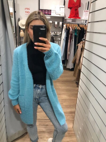 Radiance Cardigan Blue