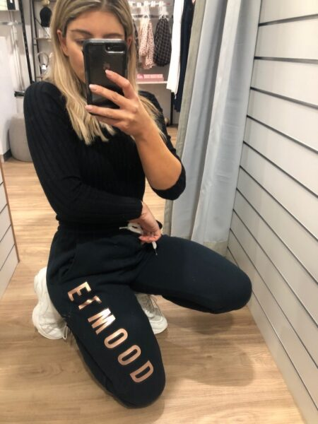 Huff N Puff Track Pant Navy