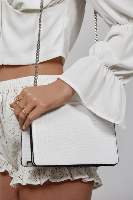 Billini Rooney Shoulder bag white