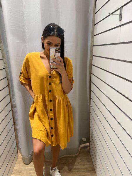 Sara Melon Dress
