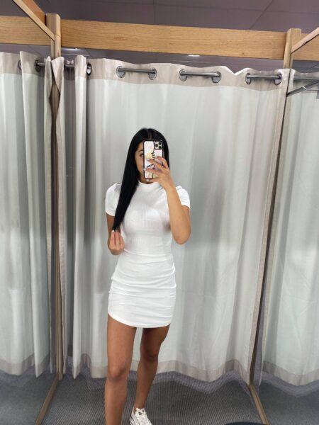 Laurel White Dress