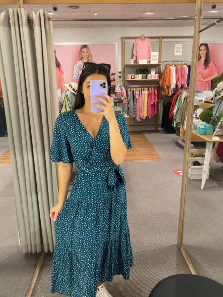 Selene Print Maxi Dress
