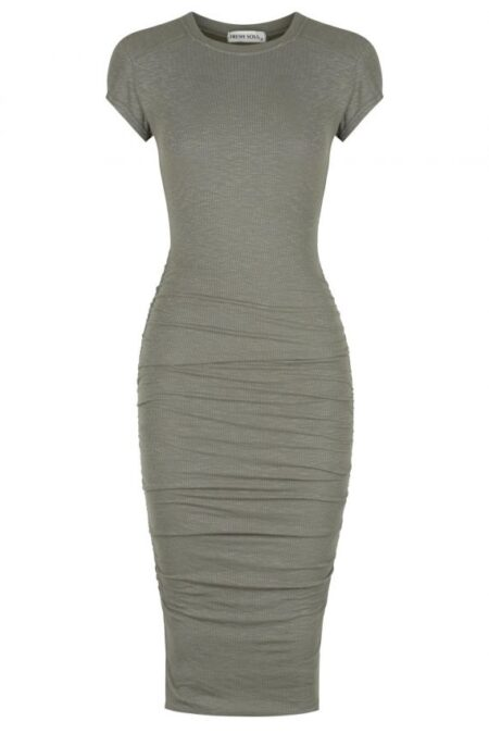 Lomita Dress Khaki