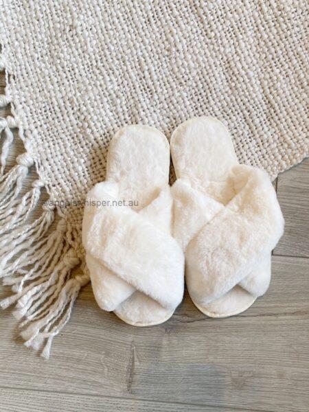 Skylar Fluffy Slippers