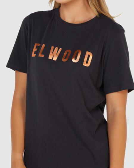Elwood Huff N Puff Tee Black