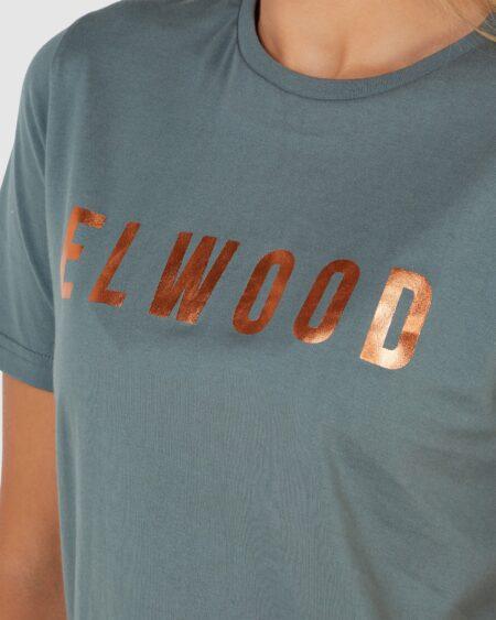 Elwood Huff N Puff Tee Hunter Green