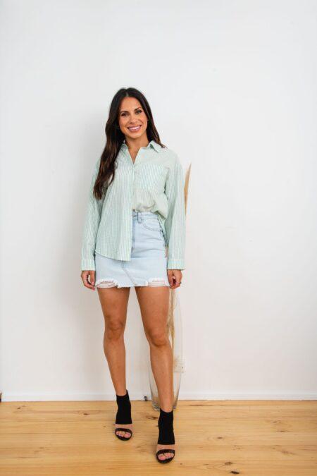Milana Shirt Green